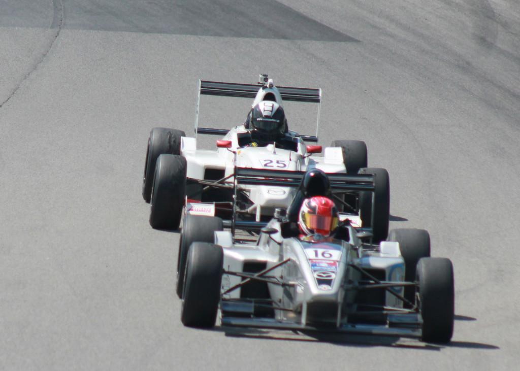 Ryan Verra Mid-Ohio USF2000 Race Indycar Racing